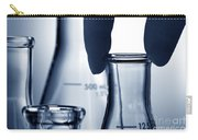 Erlenmeyer Flasks In Science Research Lab Carry-all Pouch
