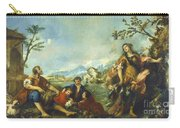 Erminia And The Shepherds Carry-all Pouch