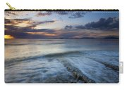 Eroded By The Tides Carry-all Pouch