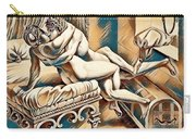 Erotic Abstract Four Carry-all Pouch