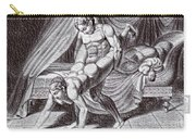 Erotic Drawing Six Carry-all Pouch