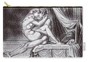 Erotic Nude Drawing One Carry-all Pouch