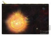 Eruption - Solar Storm Carry-all Pouch
