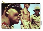 Erwin Rommel Agfa Color Libya 1942 Carry-all Pouch