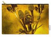 Eryngium Gold Carry-all Pouch