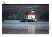 Esopus Lighthouse In December Carry-all Pouch