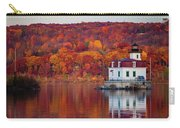 Esopus Lighthouse In Late Fall #1 Carry-all Pouch