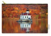 Esopus Lighthouse In Late Fall #3 Carry-all Pouch