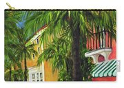 Espanola Way In Sobe Carry-all Pouch