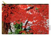 Essence Of Japanese Maple Tree Carry-all Pouch