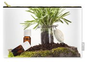 Essential Oil Of Rosemary Carry-all Pouch