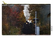 Essex Steam Train Coming Into Fall Colors Carry-all Pouch