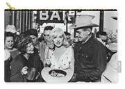 Estelle Winwood Marilyn Monroe Clark Gable Eli Wallach Montgomery Clift The Misfits Reno Nevada 1961 Carry-all Pouch