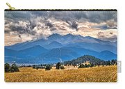Estes Park From Glen Haven 3 Carry-all Pouch