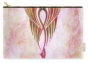 Ethereal Flight Contemporary Minimalism Carry-all Pouch