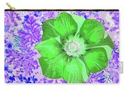 Ethereal Purple Poppy Too Carry-all Pouch