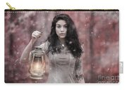 Ethereal Snow Beauty Carry-all Pouch