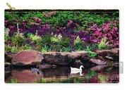 Ethreal Beauty At The Azalea Pond Carry-all Pouch