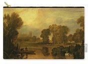 Eton College From The River Carry-all Pouch by Joseph Mallord William Turner