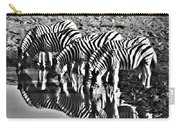 Etosha Pan Reflections Carry-all Pouch