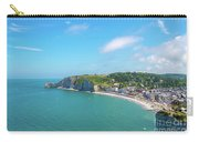 Etretat From Above, France Carry-all Pouch