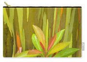 Eucalyptus And Leaves Carry-all Pouch