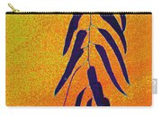 Eucalyptus Leaves Abstract Carry-all Pouch