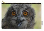 Eurasian Eagle Owl Chick Carry-all Pouch