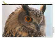 Eurasian Eagle-owl Carry-all Pouch