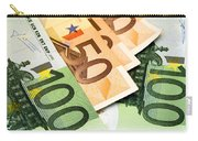 Euro Banknotes Carry-all Pouch