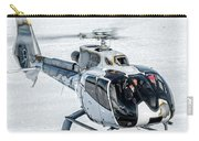 Eurocopter Ec130 With Fantastic Livery Carry-all Pouch