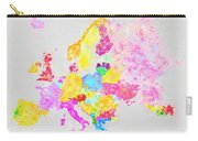 Europe Map Carry-all Pouch by Setsiri Silapasuwanchai