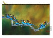 European Bee Eaters Carry-all Pouch