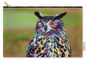 European Eagle Owl Carry-all Pouch