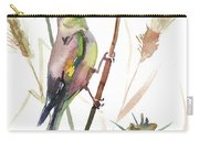 European Goldfinch In The Field Carry-all Pouch