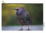 European Starling - Painted Carry-all Pouch