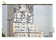 Eva Peron Outlined On The Wall Of A Skyscraper On July Nine Avenue  In Buenos Aires-argentina Carry-all Pouch