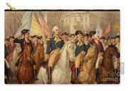 Evacuation Day And Washington's Triumphal Entry In New York City Carry-all Pouch