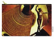Eve Balanced On A Tightrope Carry-all Pouch by Sarah Loft