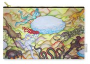 Eve Being Chased Out Of The Garden Of Eden Carry-all Pouch