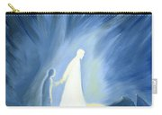 Even In The Darkness Of Out Sufferings Jesus Is Close To Us Carry-all Pouch by Elizabeth Wang