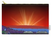 Evening At Alki Carry-all Pouch