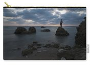 Evening At Sidna Ali Beach 3 Carry-all Pouch