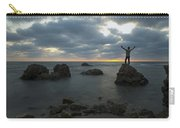 Evening At Sidna Ali Beach 2 Carry-all Pouch