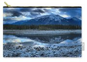 Evening At The Athabasca River Carry-all Pouch