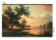 Evening Atmosphere By The Lakeside Carry-all Pouch