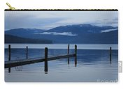 Tranquil Blue Priest Lake Carry-all Pouch