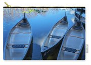 Evening Canoes At The Dock Carry-all Pouch