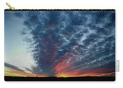 Evening Sky In Kansas Carry-all Pouch