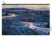 evening drive at Canyonlands National park Utah Carry-all Pouch
